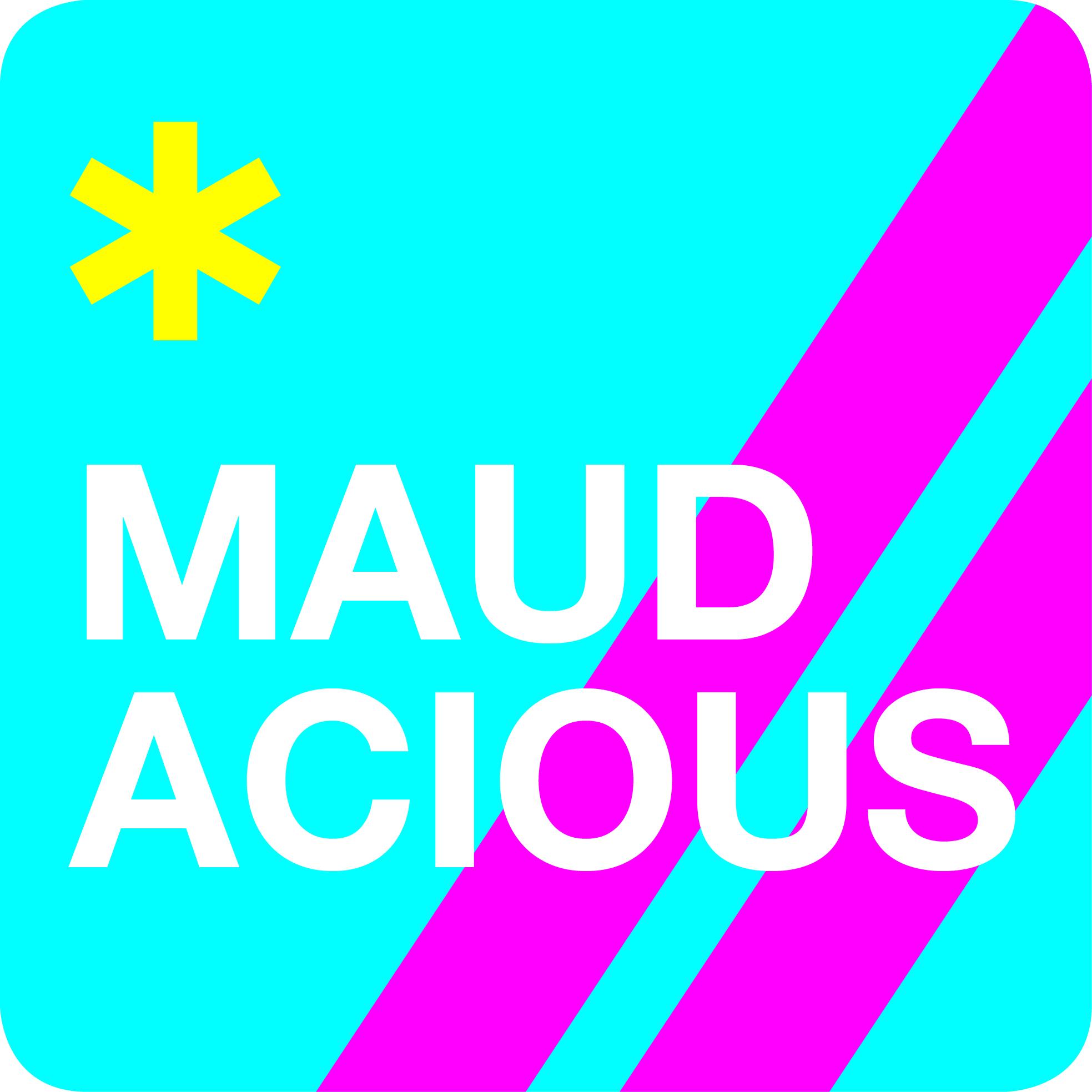 logo design - maudacious